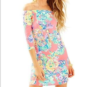 Lilly Pulitzer Laurana Dress, in Coral Reef